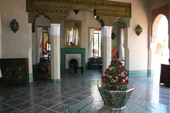 Hotel Les Jardins de l'Agdal : Salon