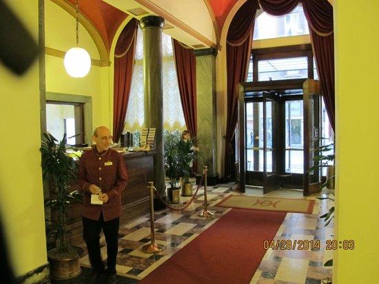 Quirinale Hotel: Hotel Lobby