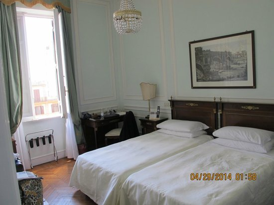 Quirinale Hotel: Our Room