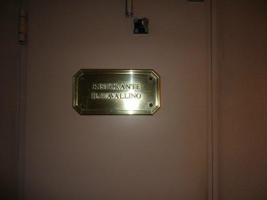 Hotel de la Ville: Ristorante Il Cavallino