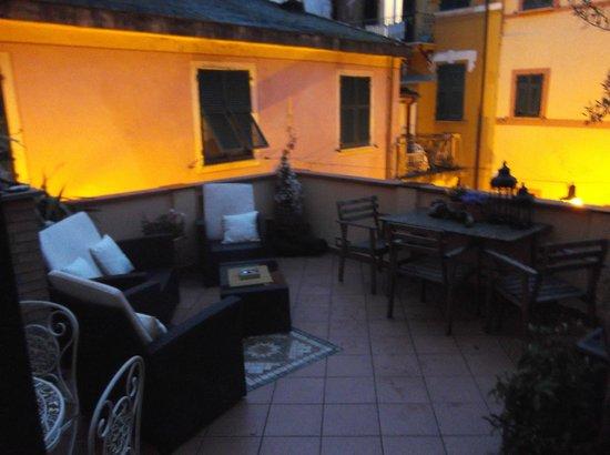 Da Vice Rooms: The fab terrace