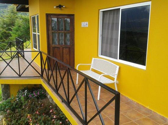 Cabanas El Parador: Suite de 2 personas . (Balcón)