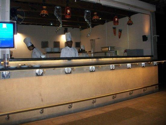 Hilton Chennai: Chefs at work at the Q Bar