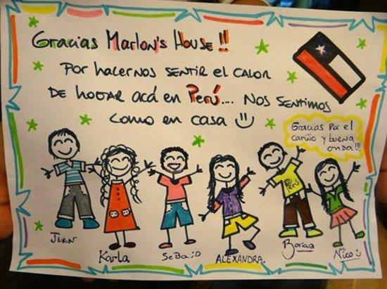 Marlon's House Cusco-Peru : Comments