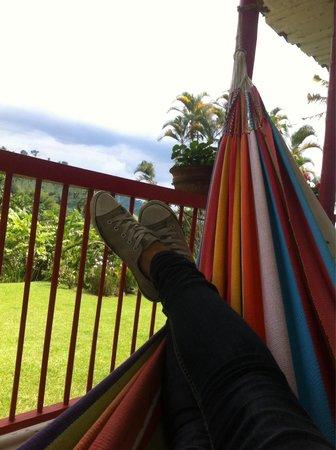 Coffee Tour Hacienda Venecia: Relaxing time