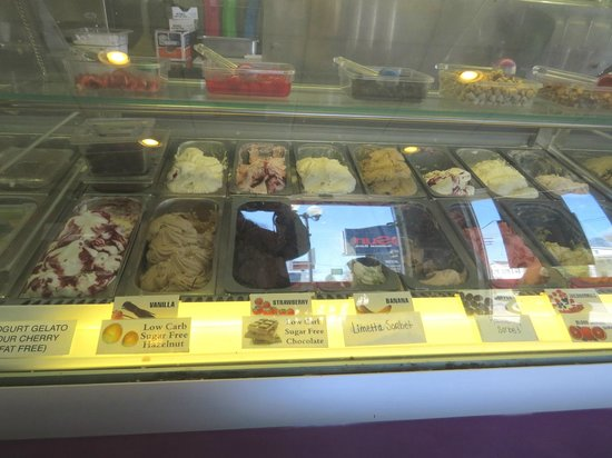 Cafe 360: some of the gelato
