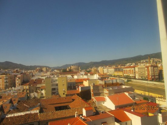 Salles Hotel Malaga Centro : Nice view from room