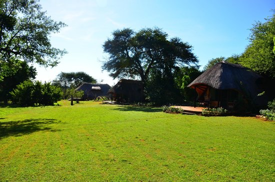 Imbabala Zambezi Safari Lodge: View of the grounds heading towards room #9