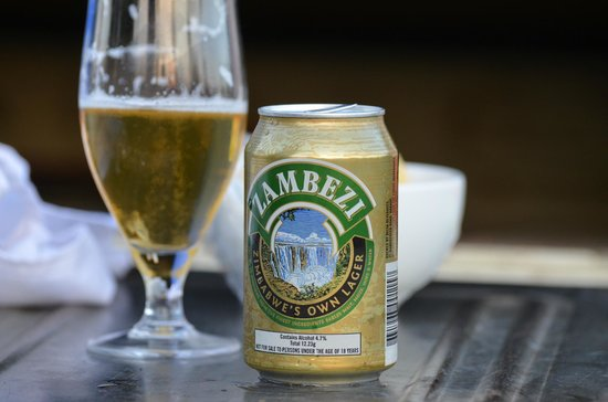 Imbabala Zambezi Safari Lodge: One of the local beverages.