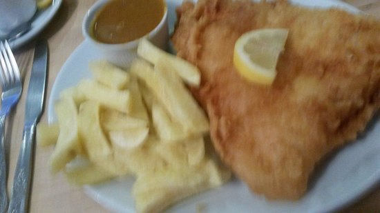 The Almighty Cod: Fish and Chips .