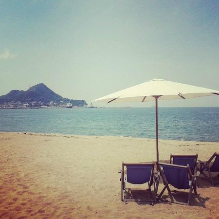 Hotel La Posada: playa
