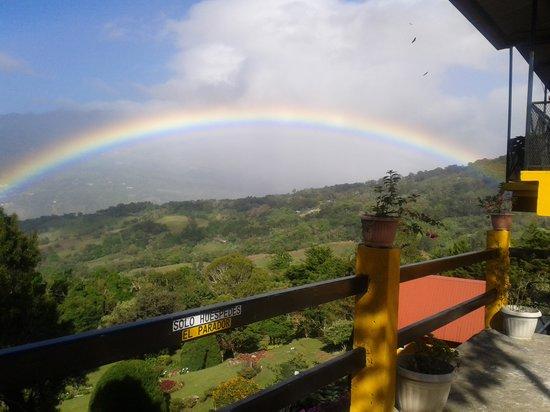 Cabañas El Parador: Vista