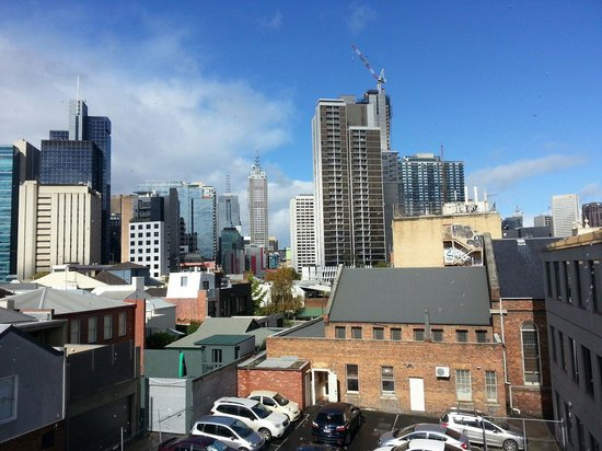 Quality Hotel Downtowner on Lygon: View from room 330