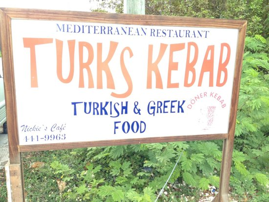 Turks Kebab: On Allegro Road down from 7 Stars Resort