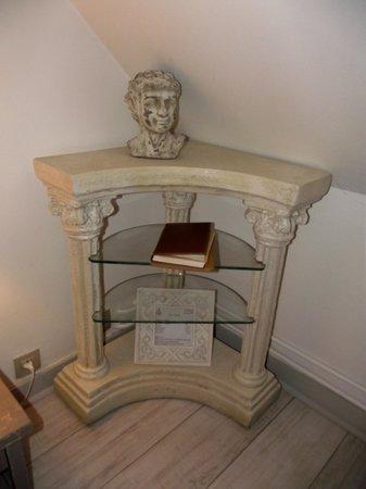 Chambres d'hôtes l'Intemporelle : un coin de la chambre Aphrodite