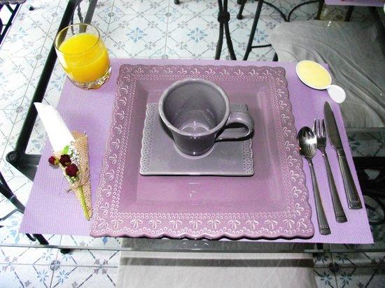 Chambres d'hôtes l'Intemporelle : le petit déjeuner