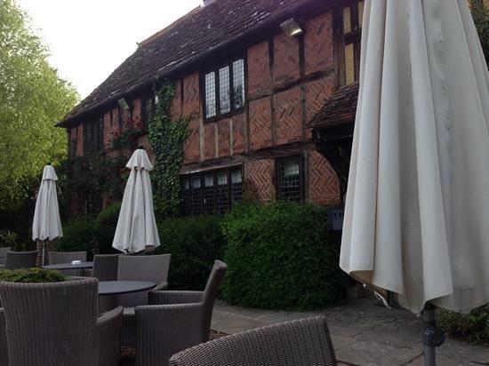 Langshott Manor Hotel Gatwick: nice terrace
