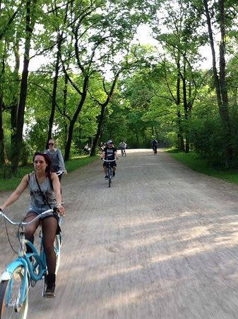 Mike's Bike Tours: Cruisin' through the park
