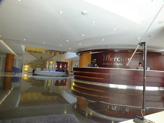 Mercure Hotel Alameda: Recepción