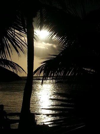 Canonnier Beachcomber Golf Resort & Spa : le coucher de soleil