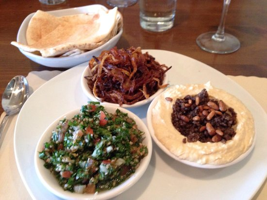 Mezza : Sampler platter of:
