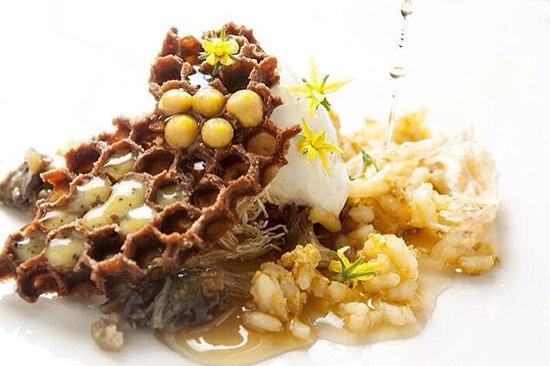 Kuuk: HoneyComb dessert. New tasting menú 2014