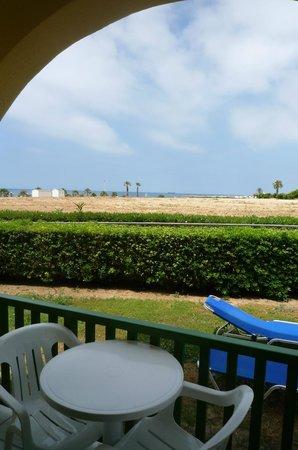 Kefalos Beach Tourist Village: Balcony with side-seaview