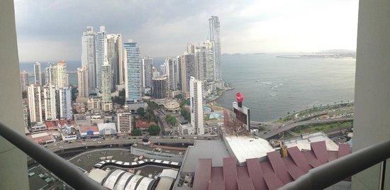Hard Rock Hotel Panama Megapolis : Vista del balcón