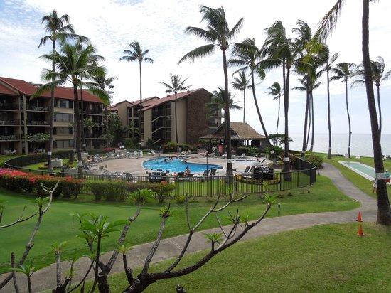 Aston at Papakea Resort: View from lanai