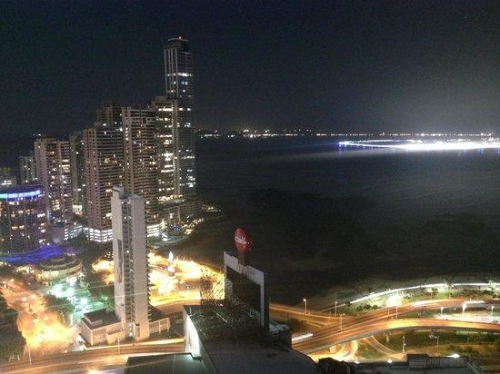 Hard Rock Hotel Panama Megapolis : Vista de noche