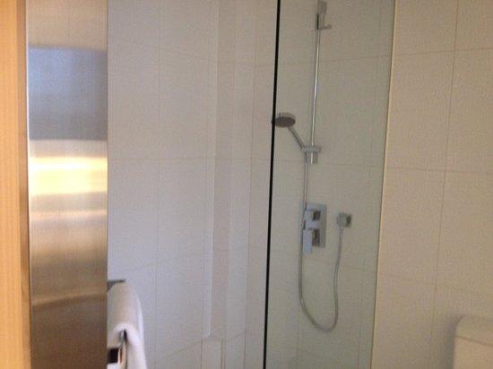 Dorsett Tsuen Wan, Hong Kong: Giving you an idea of how clean their shower area is!!!!