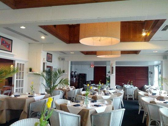 Montauk Yacht Club Resort & Marina: salle restaurant