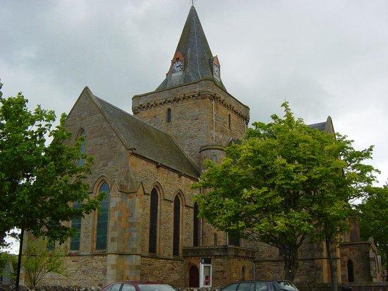 Royal Dornoch Golf Club: Dornoch cathedral
