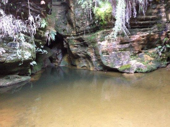Parque Estadual do Ibitipoca : Gruta do Mojinho