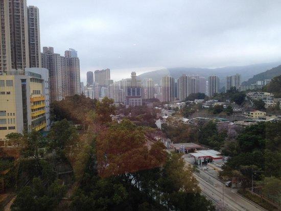 Dorsett Tsuen Wan, Hong Kong: View from our room... Romantic for honeymooners....