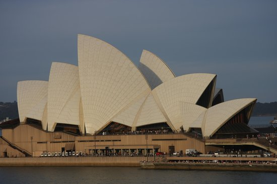 Sydney Opera House : Opera House from Ship
