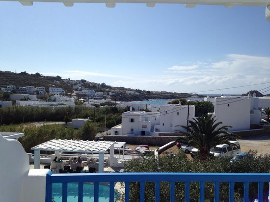 Argo Hotel Mykonos: View from 101 in the morning