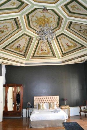 Casa dos Loios by Shiadu: Techo de una de las habitaciones