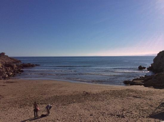 H.TOP Molinos Park: small cove bottom of hill,nice walks along coast,nice quiet place ,was plesantly surprised