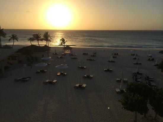 Bucuti & Tara Beach Resort Aruba : View from Tara Suites