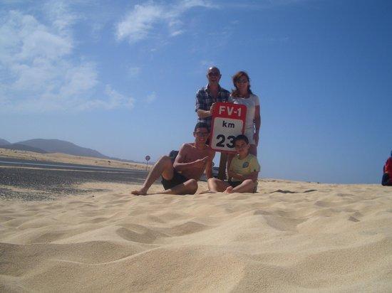 Hotel Fuerteventura Playa: le dune di Corralejo