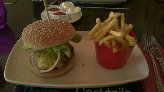 Detroits : Blue Velvet Burger