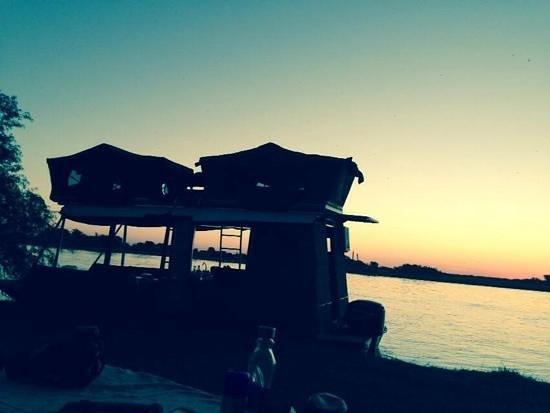 Caprivi Houseboat Safaris: Caprivi Boat House