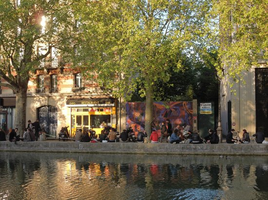 Le comptoir general paris canal saint martin - Le comptoir de l arc paris ...