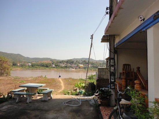 Portside Hotel: Vista al Mekong