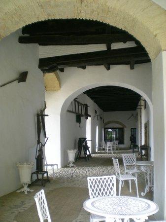 Palacio de Medina Sidonia: Patios traseros