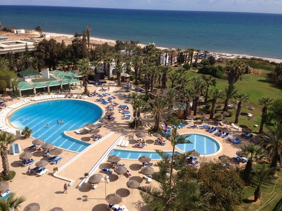 Marhaba Palace Hotel : View from room 601