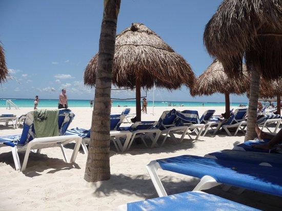 Viva Wyndham Azteca: première visite à la plage
