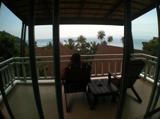 Cocohut Village Beach Resort & Spa : Ausblick aus dem Zimmer