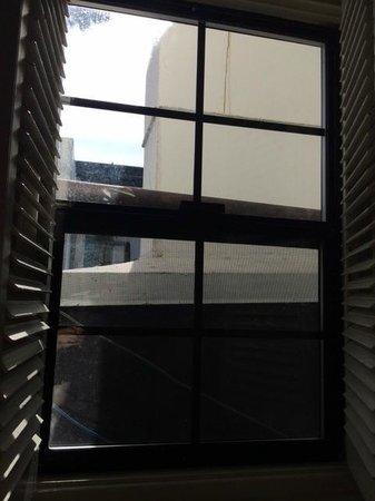 Pine Inn : view from bathroom window